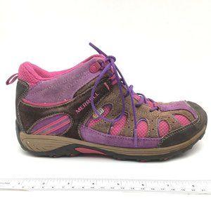 Merrell Womens Chameleon Hiking Shoes Brown 5